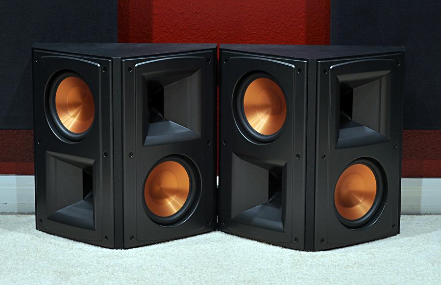rs 62ii surrounds garage sale the klipsch audio community. Black Bedroom Furniture Sets. Home Design Ideas