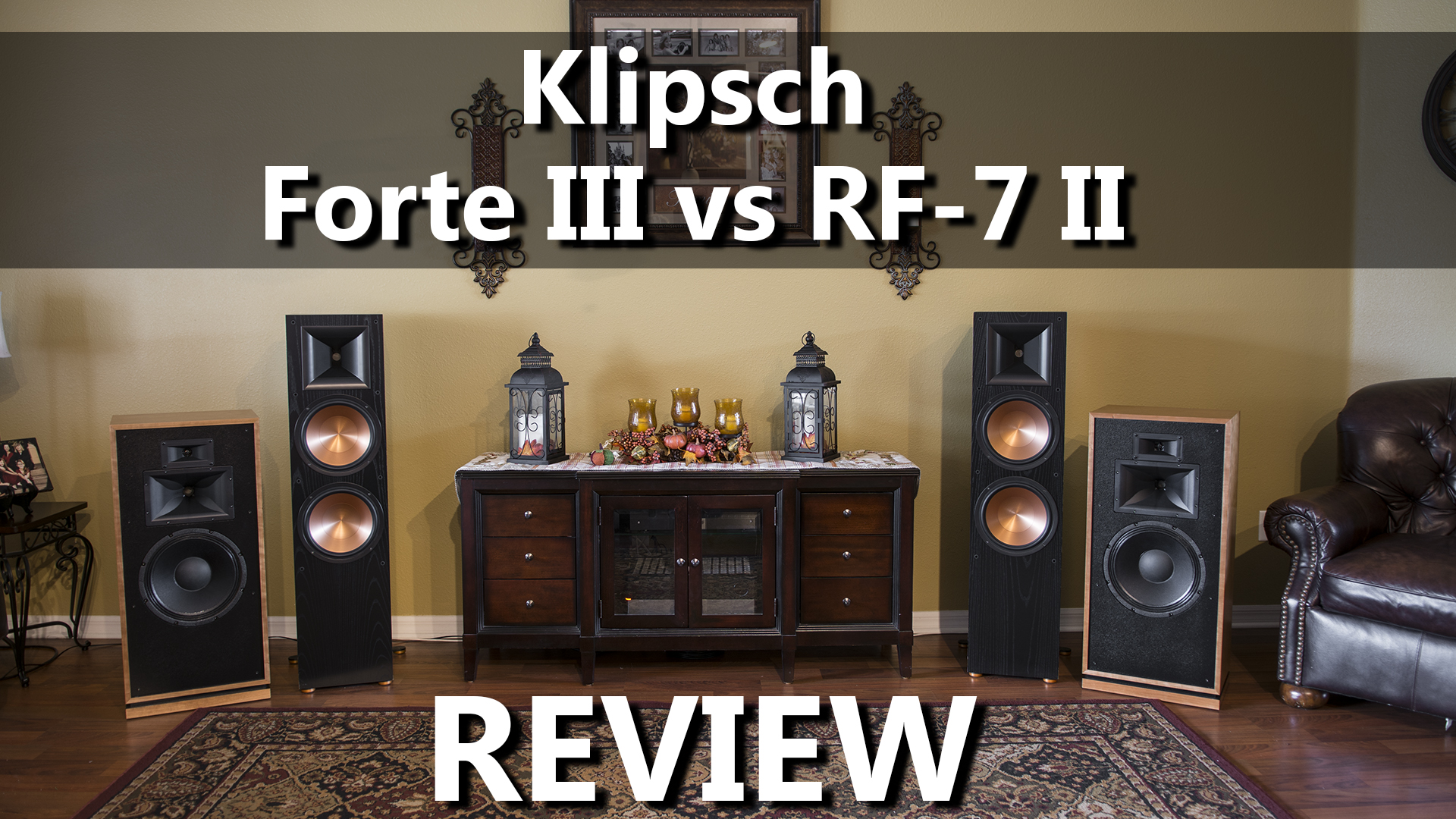 Klipsch Forte III vs RF-7 II Review - 2-Channel Home Audio